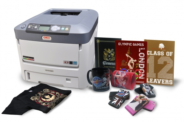 Pinture of OKI C711WT printer