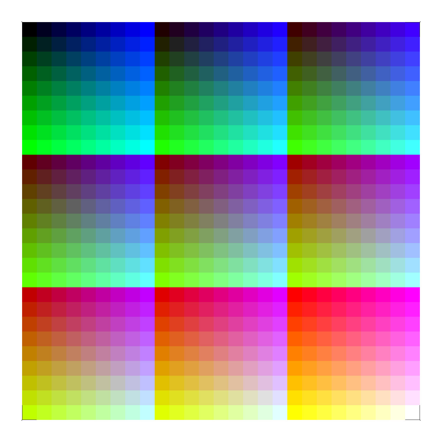printer color charts - Mersn.proforum.co