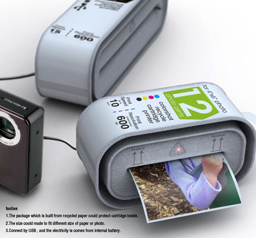 Disposable printer concept