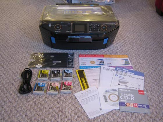 Epson Stylus RX595 all-in-one photo printer