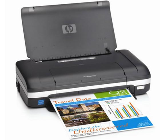 HP OfficeJet H470b mobile printer