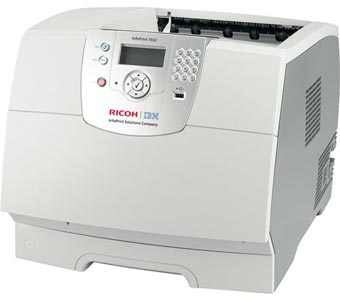 IBM InfoPrint 1552 monochrome laser printer