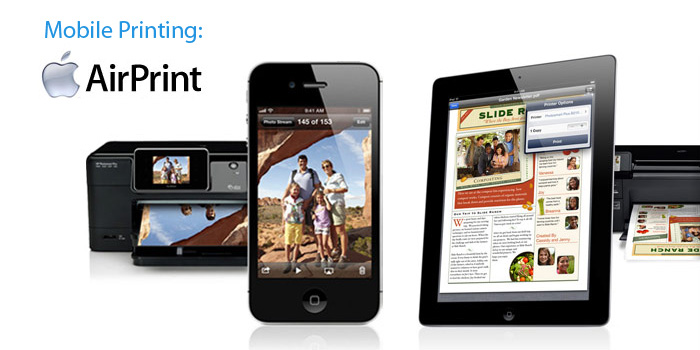Mobile Printing: Apple AirPrint