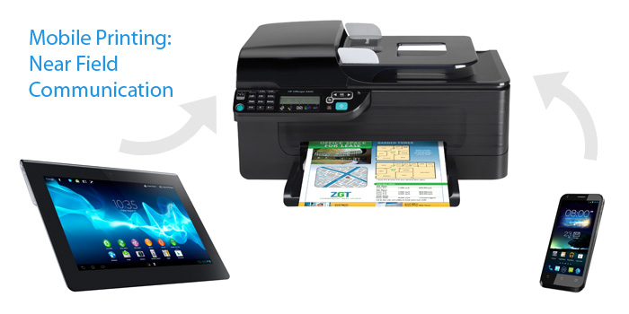 Mobile Printing: Near Field Communication