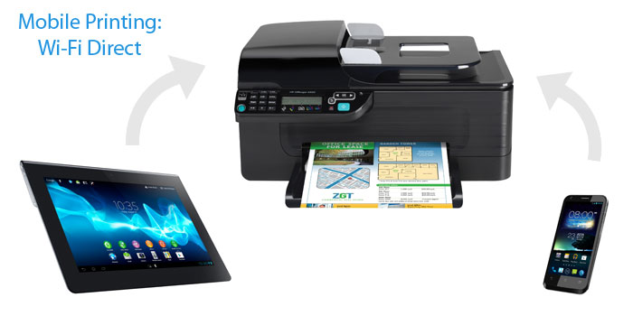 Mobile Printing: Wi-Fi Direct