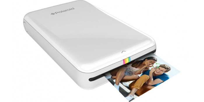 Polaroid mobile printer