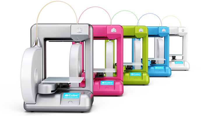 The Cube, a personal 3D printer